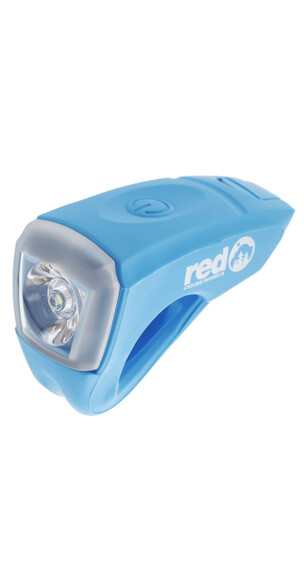 Red Cycling Products Urban LED USB Scheinwerfer blau